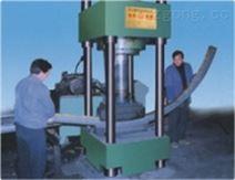 海南保亭H型钢工字钢弯拱机矿用巷道支护施工专用轨道钢冷弯机