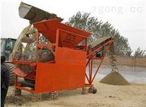 供應大型沙場用滾筒型篩分機 多功能電動滾筒篩 攪拌站用篩沙機