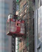 升降機升降平臺山東升降貨梯施工升降機手動升降機腳踏搬運車