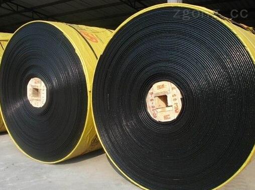 安徽橡膠面整體帶芯阻燃輸送帶--蚌埠PVG膠帶