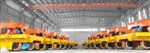 百分百工厂大吨位电动搬运台车|电动台车|免维护电池车