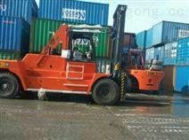 廠家直銷碼頭港口30噸叉車高門架30噸集裝箱叉車