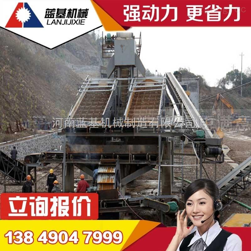 黄石建筑垃圾筛分处理设备生产骨料在公路建设水利工程广泛应用