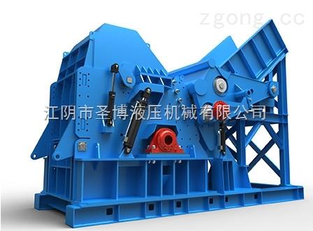 福建全自动成套破碎设备 psx-1200马力废铁破碎机