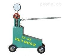 山西2S-SY雙缸手動試壓泵