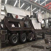合肥移動破碎站 施工工地直接用移動磕石機