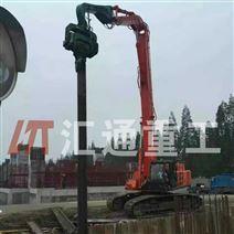广东供应挖机打桩臂、打桩锤安全可靠