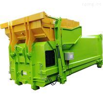 處理100噸垃圾轉運站一體壓縮機移動式