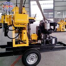 輪式液壓地質勘探鉆機