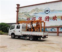 農業灌溉地質勘探車載鉆機