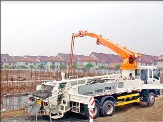 中国重工机械网 资讯中心 明星企业 中联泵车参与三沙岛建设 客户致