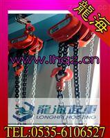 10吨韩国原装进口倒链【DH100韩国手拉葫芦】龙海起重